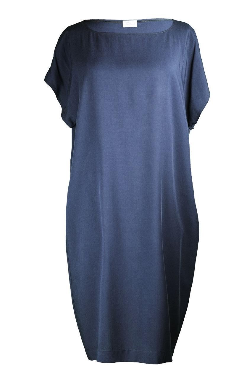 Kleid 5KA dunkelblau Vorderseite 2 (c)dorisfroehlich
